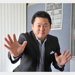 舞の海さながらの非常手段(C)日刊ゲンダイ