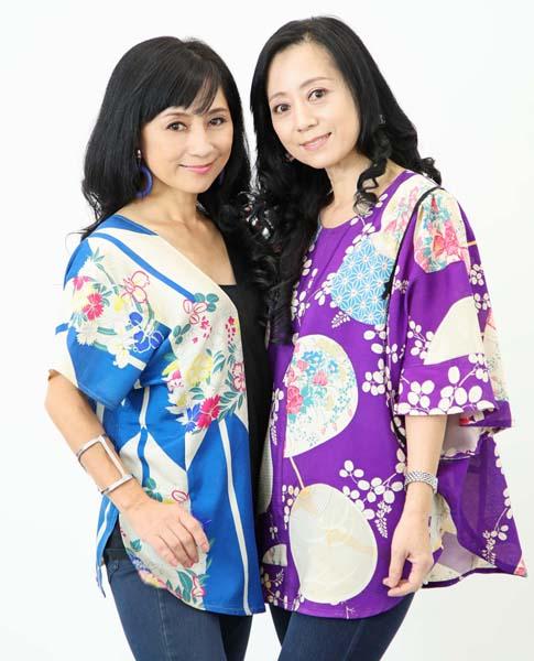 右が姉の斉藤林子さん、左が妹の巴美さん(提供写真)
