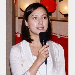 ブログで結婚を発表(C)日刊ゲンダイ
