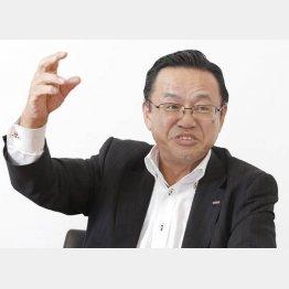 ポッカサッポロフード&ビバレッジの國廣喜和武社長(C)日刊ゲンダイ