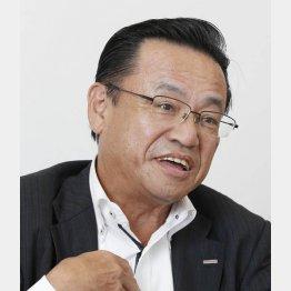 ポッカサッポロの國廣喜和武社長(C)日刊ゲンダイ