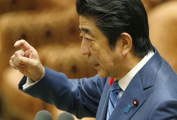 TPP承認を急ぐ安倍首相(C)日刊ゲンダイ