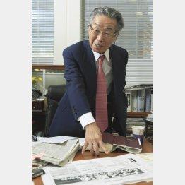 「悲観からま何も生まれない」と升永弁護士(C)日刊ゲンダイ