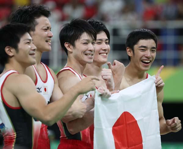 リオ五輪では体操男子団体金メダル(C)真野慎也