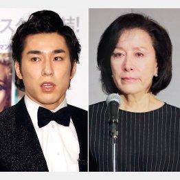 高畑裕太(左)と母・高畑淳子は何を思うのか/(C)日刊ゲンダイ