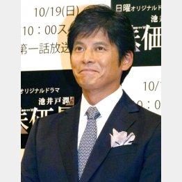 民放ドラマは3年ぶり(C)日刊ゲンダイ