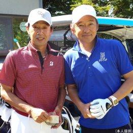 篠塚和典さん<3>シャンクが止まらずグリーンを一周