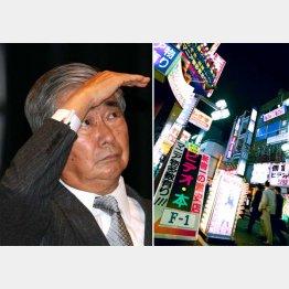 03年末には自ら歌舞伎町も視察した