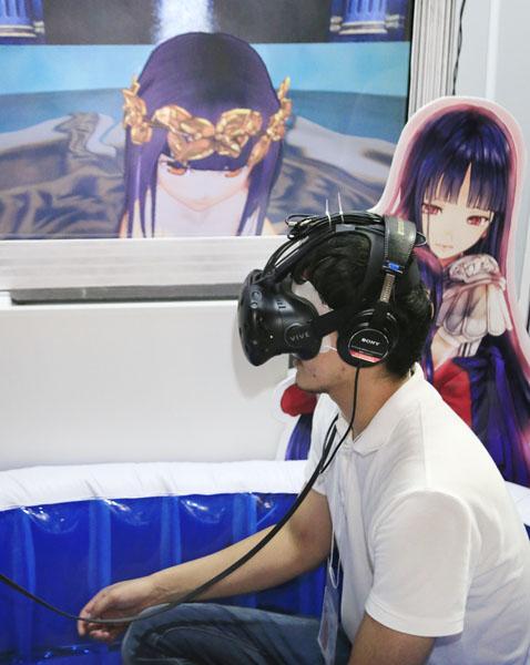 VR進出で株価急騰(C)日刊ゲンダイ