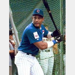 00年日米野球で来日したときは野球ファンを沸かせた(C)日刊ゲンダイ
