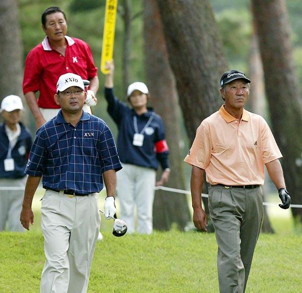 かつてはゴルフ界を盛り上げたAON(C)日刊ゲンダイ