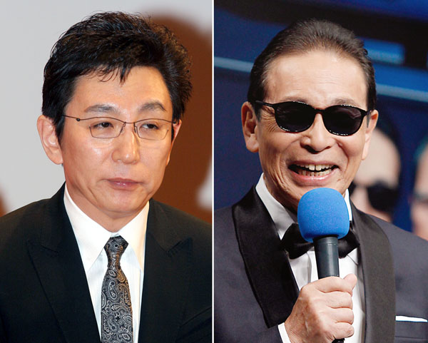 古舘伊知郎(左)とタモリ/(C)日刊ゲンダイ