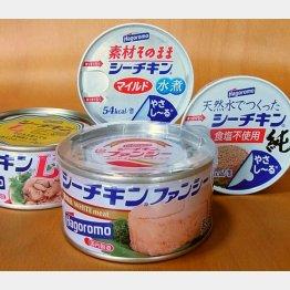 関連商品は年間3億缶が製造されている