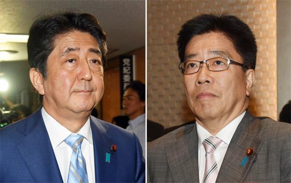 安倍首相と加藤働き方改革担当大臣の思いつきも極まれり(C)日刊ゲンダイ