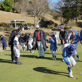 篠塚和典さん<4>伊豆で小学生を集め野球&ゴルフ教室