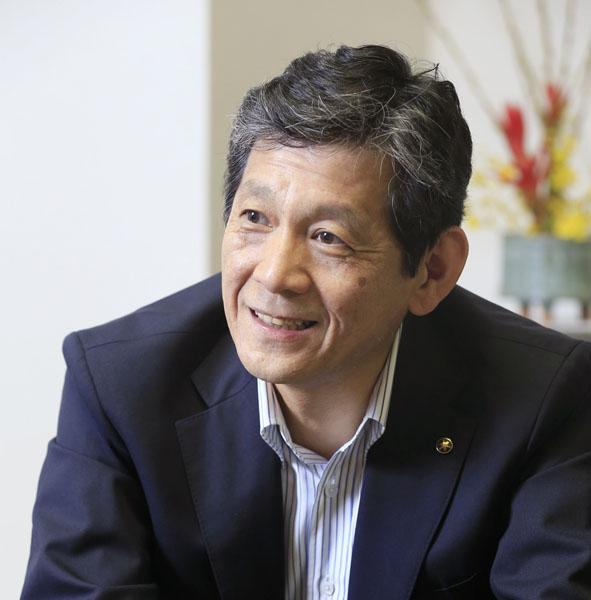 ヤマハの中田卓也社長(C)日刊ゲンダイ