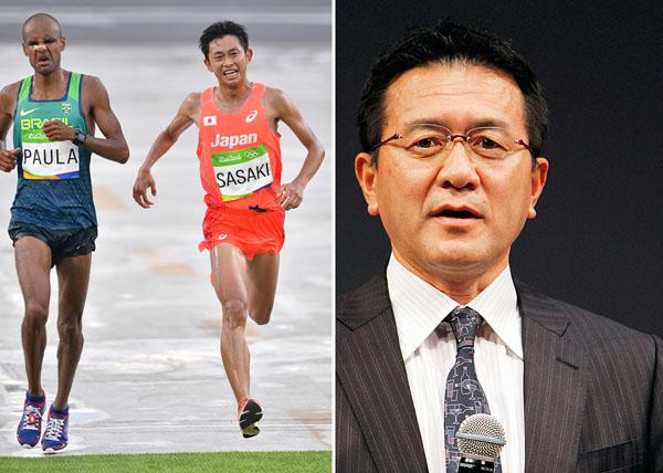 リオ五輪男子マラソンは佐々木悟の16位がベスト(右・瀬古利彦氏)/(C)JMPA