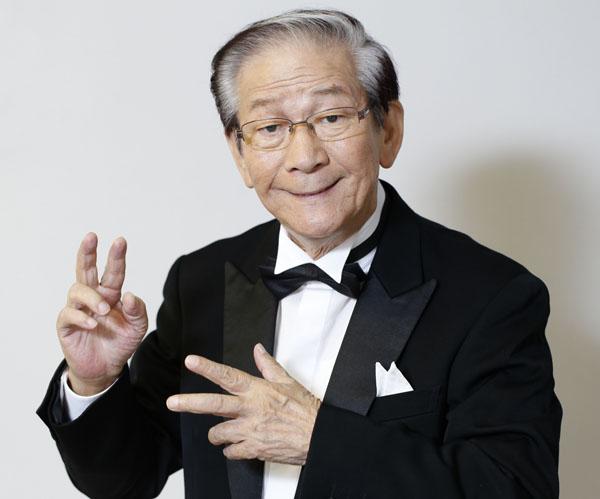 小松政夫さん(C)日刊ゲンダイ