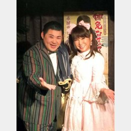"""大江裕(左)が""""お姉ちゃん""""と慕うはるな愛"""