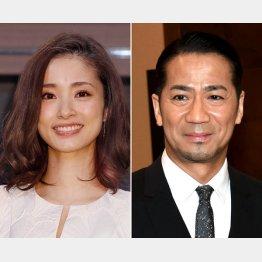離婚の噂が絶えない上戸彩とHIRO(C)日刊ゲンダイ