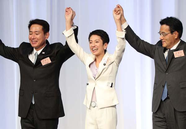 代表選で勝った蓮舫代表から「調査会」会長を任命された(C)日刊ゲンダイ