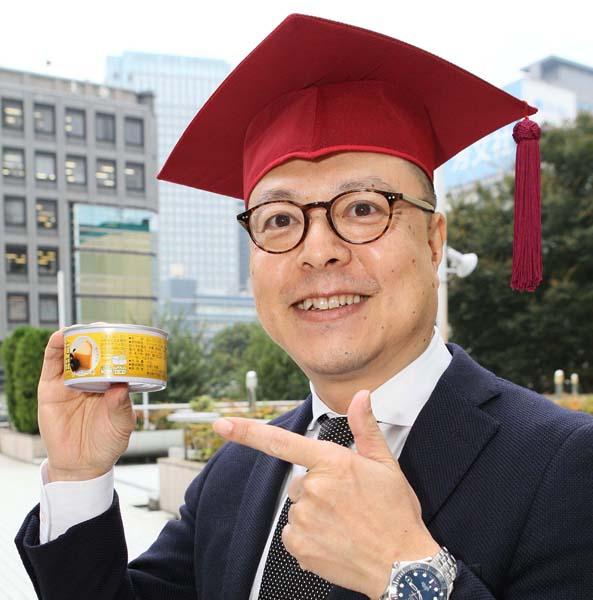 「缶詰博士」こと黒川勇人さん(C)日刊ゲンダイ