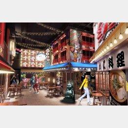 上海にオープンする「ラーメンアリーナ」(提供写真)