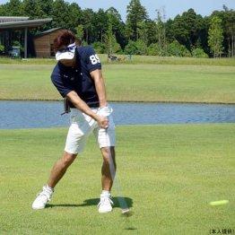 池谷幸雄さん<1> ゴルフでヒジをうまくたためない