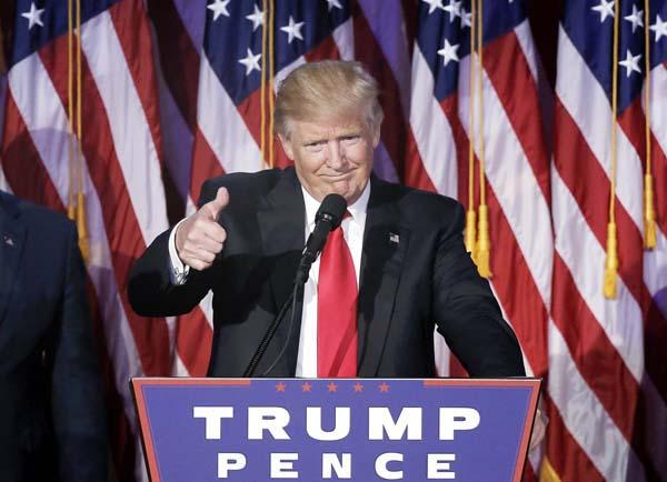 トランプ次期大統領(C)ロイター