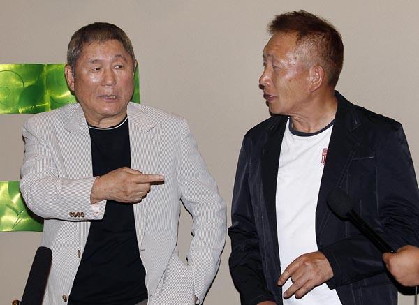 「たけし軍団」のルーツは「欽ちゃんファミリー」(C)日刊ゲンダイ