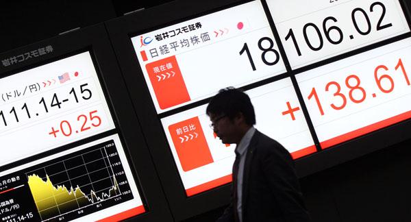 円安株高に浮かれている日本経済(C)日刊ゲンダイ