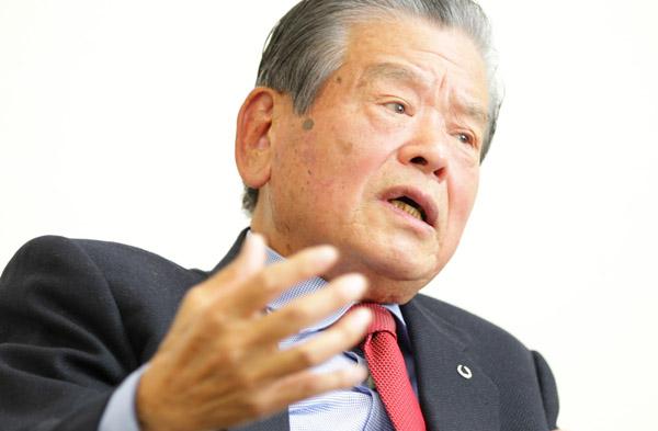 日本バスケットボール協会エグゼクティブアドバイザーの川淵三郎氏(C)日刊ゲンダイ