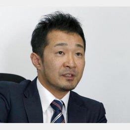 ベガコーポレーションの浮城智和社長(C)日刊ゲンダイ