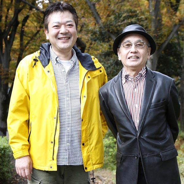 吉川潮(右)と立川談笑/(C)日刊ゲンダイ