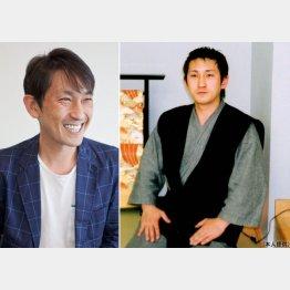 右は、呉服店に勤め始めた頃(C)日刊ゲンダイ