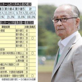 <2>待機老人52万人 長嶋茂雄氏が特養ホームに入れる確率は?