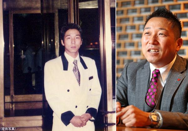 左はヒルトン時代の鈴木拓将社長(C)日刊ゲンダイ