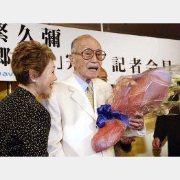 昭和の大スターだった故・森繁久彌氏(C)日刊ゲンダイ