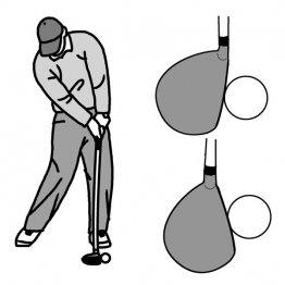ボールの飛び方はダウンスイングで決まる