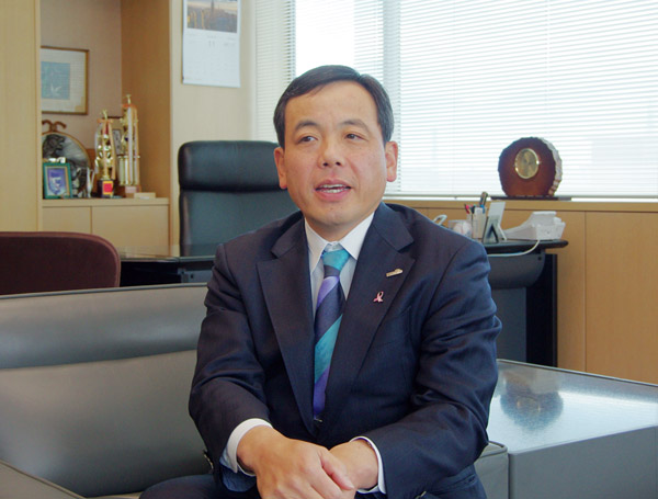 ホクトの水野雅義社長(C)日刊ゲンダイ