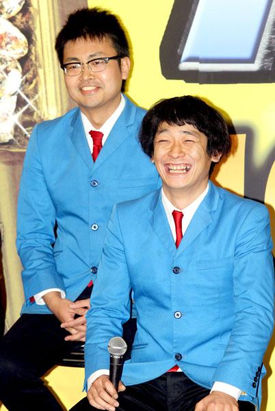 「銀シャリ」の橋本直(左)と鰻和弘(C)日刊ゲンダイ
