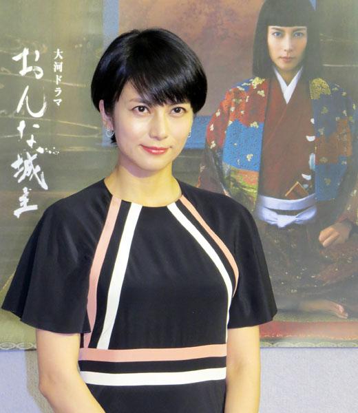 「おんな城主直虎」主演の柴咲コウ(C)日刊ゲンダイ
