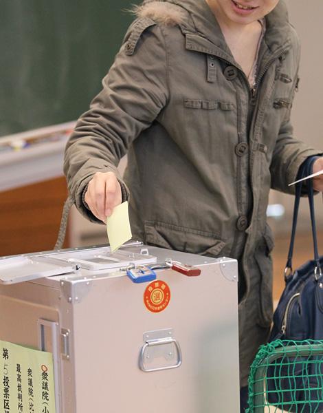 ますます選挙に関心が向かなくなる(C)日刊ゲンダイ