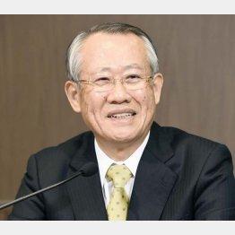 三菱商事出身の上田良一氏(C)共同通信社
