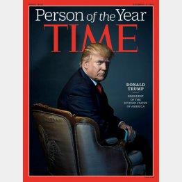 トランプ氏が表紙の「TIME」誌(C)ロイター