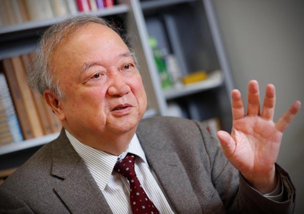 早大法学部教授で前NHK経営委員長代行(C)日刊ゲンダイ