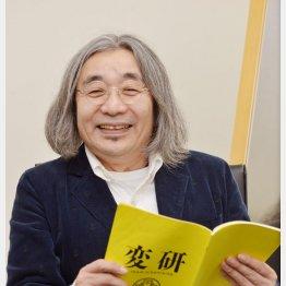 「タモリ倶楽部」のソラミミストも務める安齋肇さん(C)日刊ゲンダイ