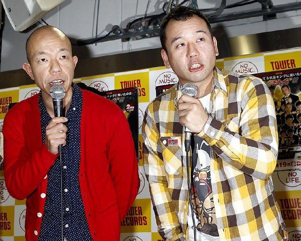 小峠(左)と相方の西村(C)日刊ゲンダイ