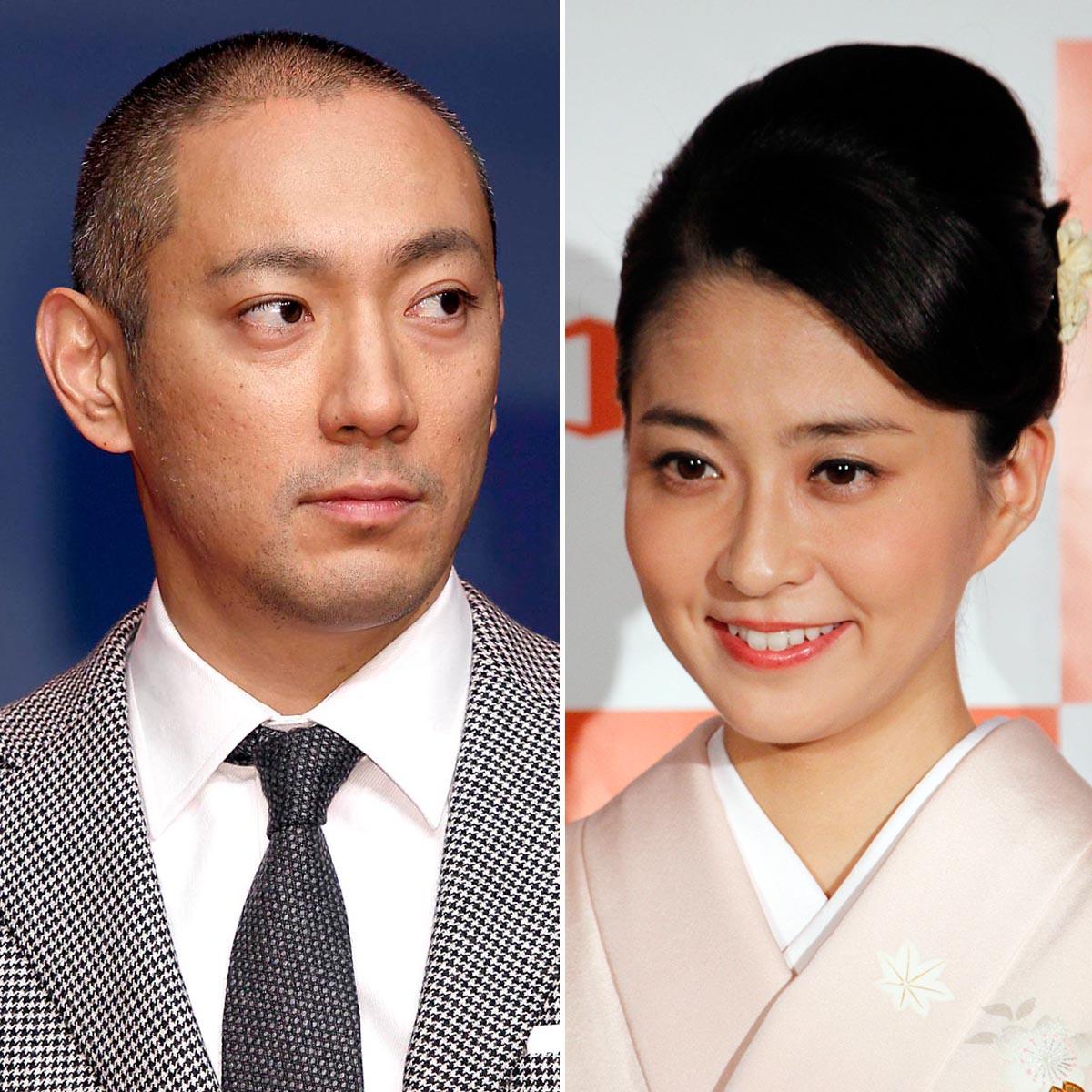 市川海老蔵と麻央夫人(C)日刊ゲンダイ