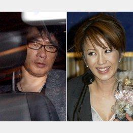 再逮捕されたASKA容疑者と故・飯島愛(C)日刊ゲンダイ